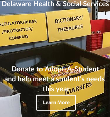 Donate to Adopt-A-Student and help meet a student�s needs this year