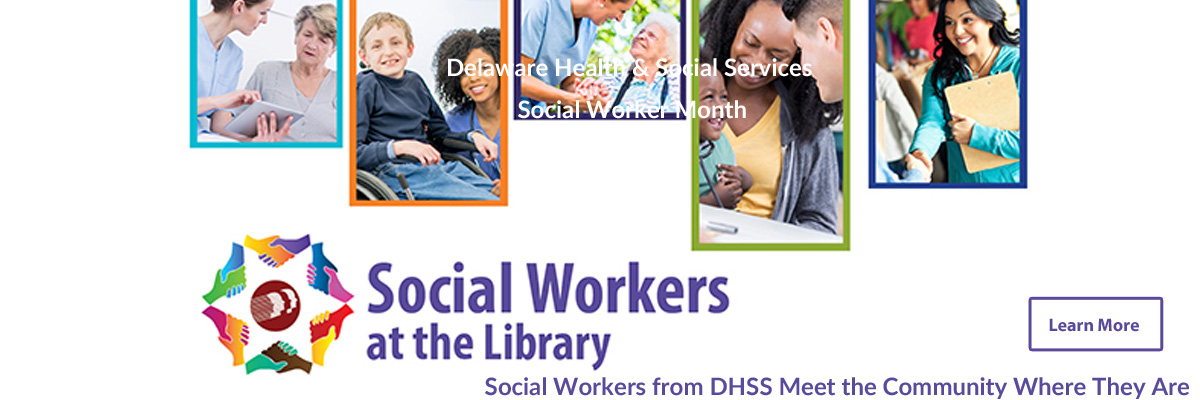 Social Workers from DHSS Meet the Community Where They Are