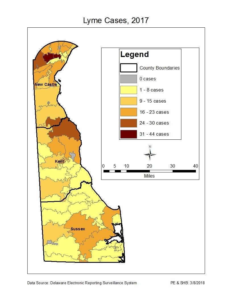 Lyme Disease Information - Delaware Health and Social